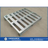 Quality Heavy Duty Galvanized Steel Pallets ,  Metal Steel Plate Stackable Metal Pallets wholesale