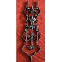 Quality Wrought Iron Elements/ wrought iron Ornaments/wrought parts/cast iron flower/leaves  for balusters and gates decorative wholesale