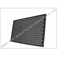 Quality Professional Rock Shaker Screen , Hookstrip Oil Vibrating Sieving Mesh Screen wholesale