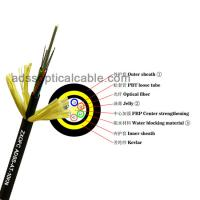 Cheap Light Weight ADSS Optical Cable Aerial Adss 24 Core G652d High Tensile Strength for sale