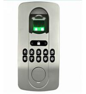 Quality Biometric fingerprint door lock has no distinguish of right and left for wooden and metal doors wholesale