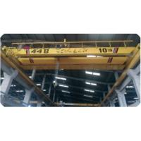 China Industrial Double Girder Overhead Travelling Crane Hoist Iso Certification on sale