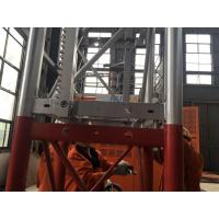 Cheap 5 Rack Modulus Material Lift Elevator , Material Hoisting Equipment With Reduction Ratio 1 / 18 for sale