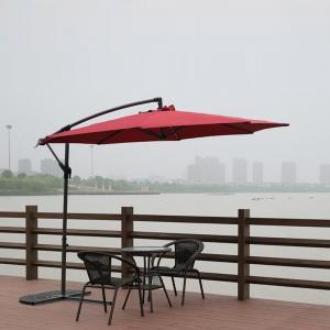Buy cheap Big Luxury Square Cantilever Patio Umbrellas , Sun Garden Umbrella Parasols from wholesalers