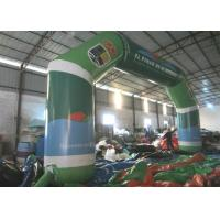 China Full Painting Inflatable Race Arch , Advertising Decoration Inflatable Start Finish Arch on sale