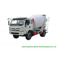 Quality YUEJIN 5m3 Small Concrete Mixer Truck With Pump , 4x2 Mobile Mixer Truck wholesale