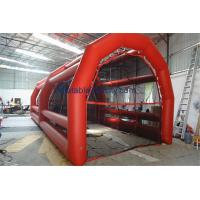 Quality Indoor Tarpaulin Inflatable Batting Cages Sport Games For Gym wholesale