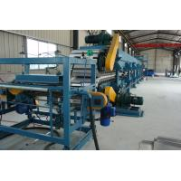 Quality Thermal Insulation Pu Sandwich Panel Production Line / Pu Injection Production Line wholesale