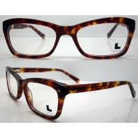 Quality Fashionable Leopard Handmade Acetate Optical Eyeglasses Frames For Women wholesale