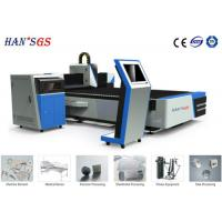 Buy cheap Tube Cnc Fiber Laser Cutting Machine High - Precision Rack And Linear Rails from wholesalers