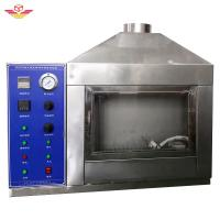 Quality Single - Flame Source Testing Equipment Equipped With Manual Adjustable Damper Device wholesale