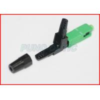China Waterproof Plastic Optical Fiber Connectors / Fiber Optic FC Connector on sale