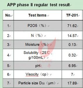 Quality Top Flame Retardant Ammonium Polyphosphate Phase II CAS 68333-79-9 wholesale