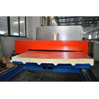 Quality Continuous Polyurethane PU Sandwich Panel Forming Machine, with 30-150mm PU Thickness wholesale