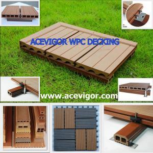 Quality WPC decking & tiles, WPC flooring, Wood Plastic Composite wholesale