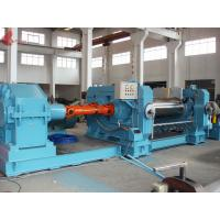 Quality High hardness Ø26x80 Electric Two Roll Rubber Mixing Mill With Cooling water wholesale