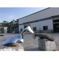 Quality Metal Outdoor Modern Abstract Sculpture Surface Polished Garden Ornaments wholesale