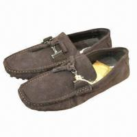 Quality Men's Leisure Casual Leather Shoes with Rubber Nonslip Soles, Breathable wholesale
