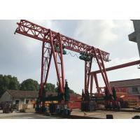 Buy cheap Single girder gantry crane which could climb stairs / 60T-20m -9m/ from wholesalers