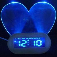 China Multifunction LCD Desk Clock with USB Hub and Highlighter Memo Board on sale