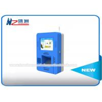 China Free Standing Wall Mount Interactive Touch Screen Kiosk Bluetooth Connection on sale