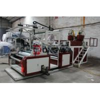 Quality Three Layers Stretch Film Extruder Machine HDPE / LDPE Material wholesale