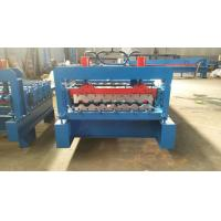 China 75mm Wall Sheet Roll Forming Machine For Building Construction 7.5kw on sale