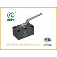 China Manifold Mounted Industrial Oil Valve on sale
