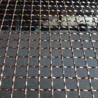 Cheap Woven Stainless Steel 304 Double Crimped Wire Mesh Hooked Mine Sieving Screen for sale