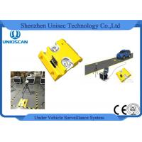 Quality Mobile Type Under Vehicle Surveillance System with License Plate Recognition wholesale