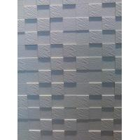 Cheap PVC Waterproof Interior / Exterior 3D Wall Panels for Wet Wall Bathroom / Hotel / Exhibition for sale