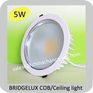 China hot selling 5w bridgelux cob led downlight on sale