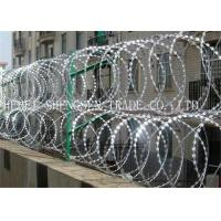 Quality Hot Dipped Galvanized Razor Blade Barbed Wire wholesale
