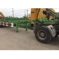 Quality Side Lifter 3 Axles Truck Mounted Crane 20ft 40ft FUWA Brand Tri Axle wholesale