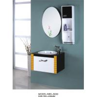 Quality 15mm PVC board Floating Bathroom Vanities furniture style 70 X 42 / cm wholesale