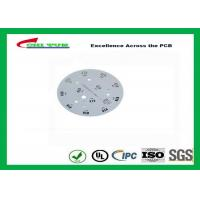 Quality Electronic Aluminum PCB Manufacturer for LED lighting White Solder Mask Rould PCB wholesale