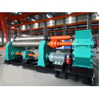 Quality 7.5kw Symmetrical Bending Machine 30 X 2500mm With 380mm Diameter Lower Roller \ wholesale
