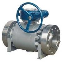 API Forged Steel Trunnion Mounted Ball Valve Float High Pressure Big Size