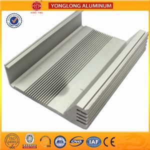 China Heat Insulating Aluminum Heatsink Extrusion Profiles Environment Protected on sale