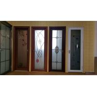 Quality Toilet Kitchen Room Tempered Glass Aluminium Folding Doors Waterproof Side Hung wholesale