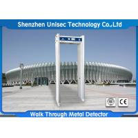 Quality 4 Multi Zone Metal Detector , 0-99 adjusted sensitivity door frame metal detector wholesale
