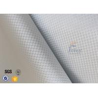 Quality Checked Silver Coated Fabric Aluminized Fiberglass Cloth For Decoration wholesale