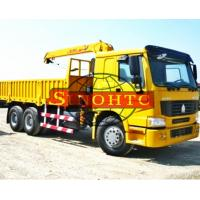 Quality 6x4 Truck Mounted Hydraulic Crane, 10 Tons Lifting Load Truck Mounted Crane wholesale