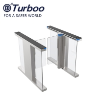 Quality 6 Pairs Economy Brushless Swing Gate Turnstiles For Store Office Hotel wholesale