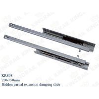 Quality NEW half extension Drawer slides Installation Drawer Metal Sides wholesale