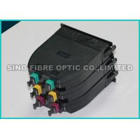 Quality High Density ABS 12F Fiber Optic MPO MTP Cassette Module LGX Format wholesale