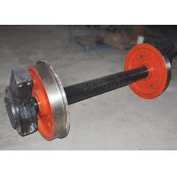 Cheap Carbon steel foundry cooling line rail wheel freight wagon wheel for sale