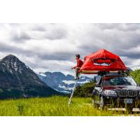 Quality UV 50+ Roof Rack Camping Tent , Jeep Roof Mounted Tent Fashionable Design wholesale