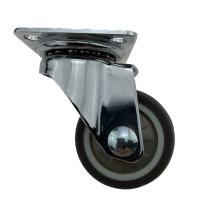 Quality Top Swivel Plate Light Duty Casters Without Brake , Swivel Stem Casters wholesale