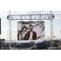 Quality P6.25 Clear Waterproof Led Screen Outdoor With Die Casting Aluminum Frame wholesale